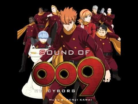 Anime 009 Re Cyborg