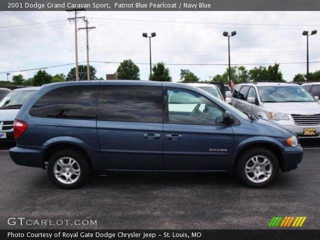 Patriot Blue Pearlcoat 2001 Dodge Grand Caravan Sport Navy Blue Interior Gtcarlot Com Vehicle Archive 31038112 Grand Caravan Caravan Dodge