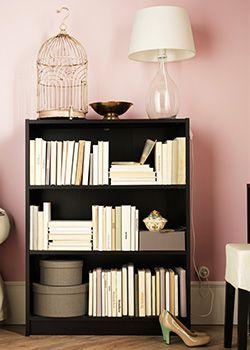 zwartbruine lage billy boekenkast