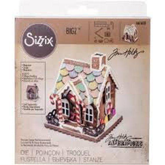 Sizzix 661591  Thinlits Dies By Tim Holtz-Village Manor