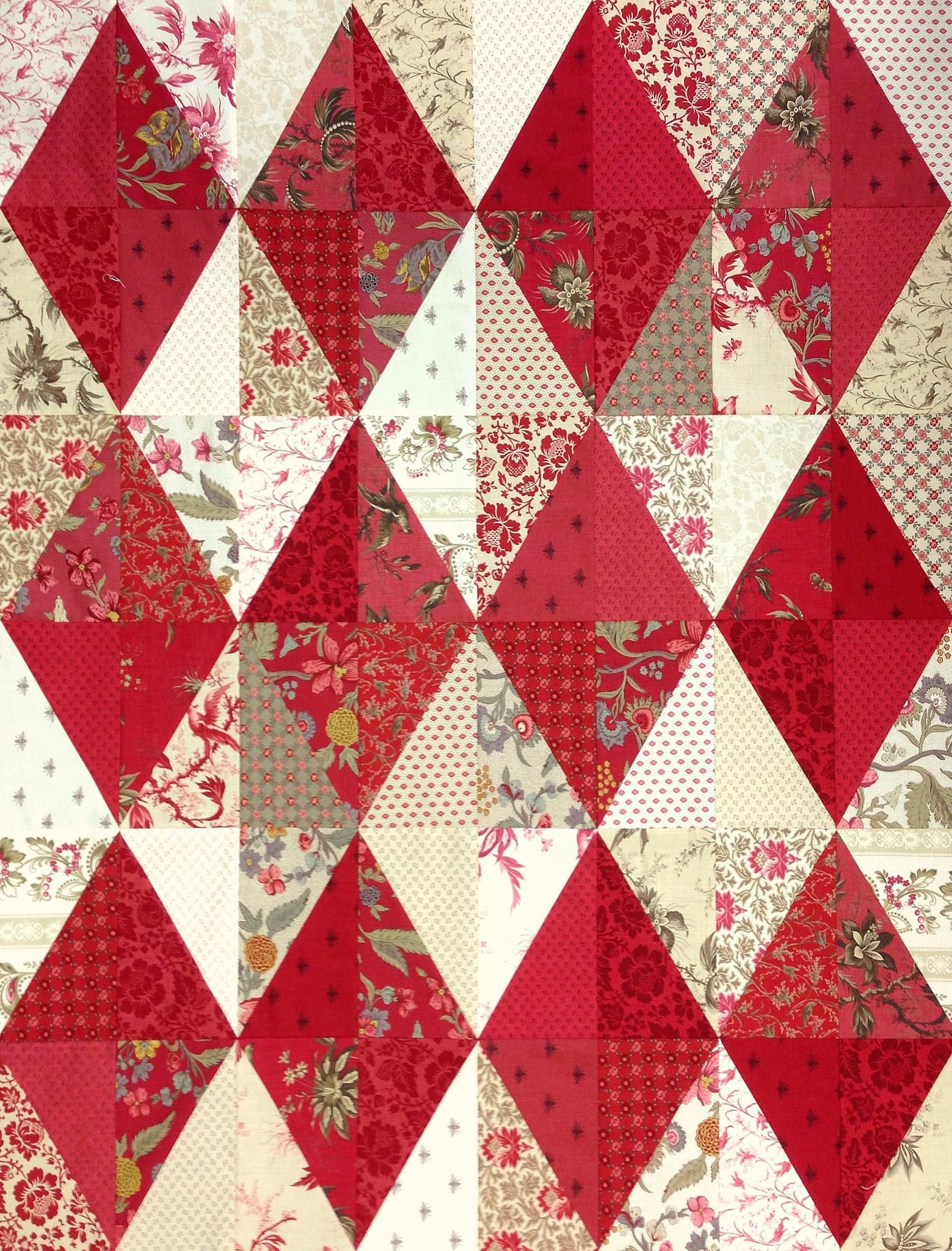 simple pattern. pretty fabric. awesome quilt. | Quilts