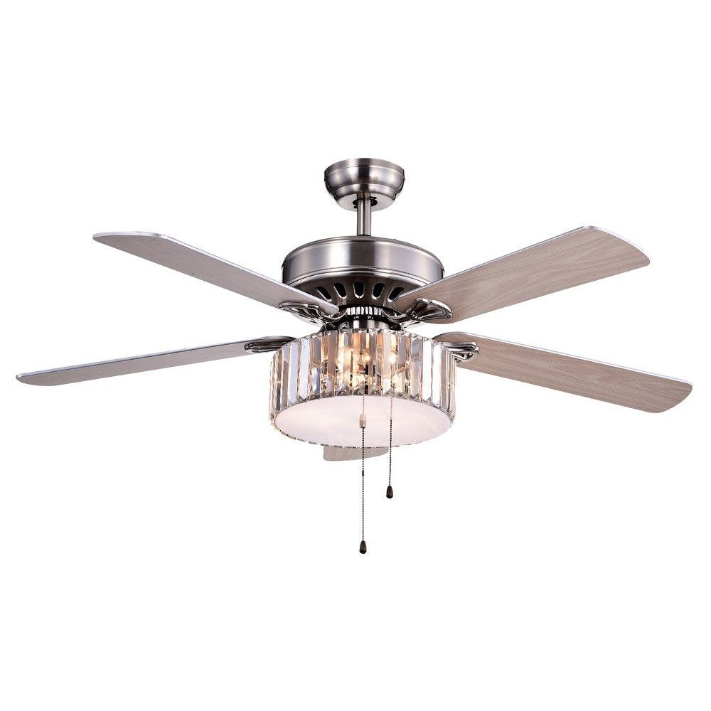 brushed of inch tiffany lighted fans pin x warehouse ceilings nickel ceiling