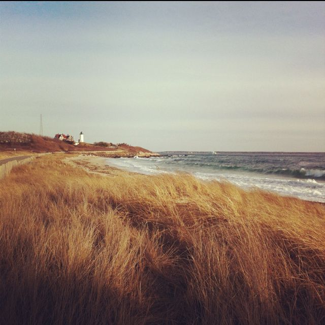 Places To Visit In The Fall On The East Coast: Nobska Beach, Woods Hole, MA