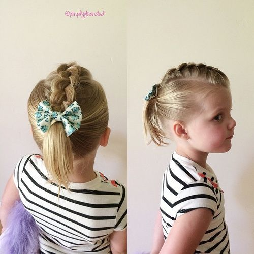 20 Super Sweet Baby Girl Hairstyles Tresses pour cheveux