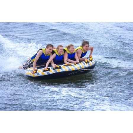 Rave Sports Mass Frantic 4-Person Towable, White | Products