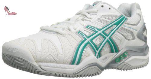 Homme Greenl43 De Pour Whiteaqua 5 Tennis AsicsChaussures pGLSUVMqjz