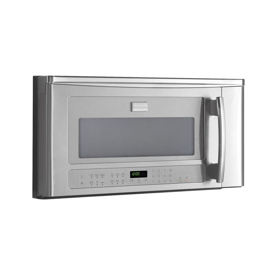 Frigidaire Professional 1 8 Cubic Ft Over The Range Microwave Stainless Steel Lowe S Canada
