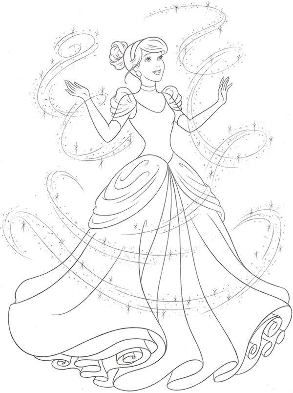 Disney Princess new redesign Style Guide Art on Wacom
