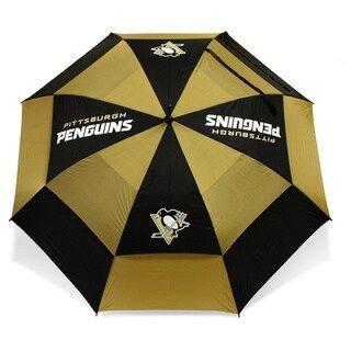 Team Golf NHL Umbrella (Pittsburgh Penguins), Brown #largeumbrella