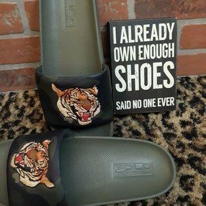 Ralph Lauren Shoes Sandals Polo Tiger Cayson Camo