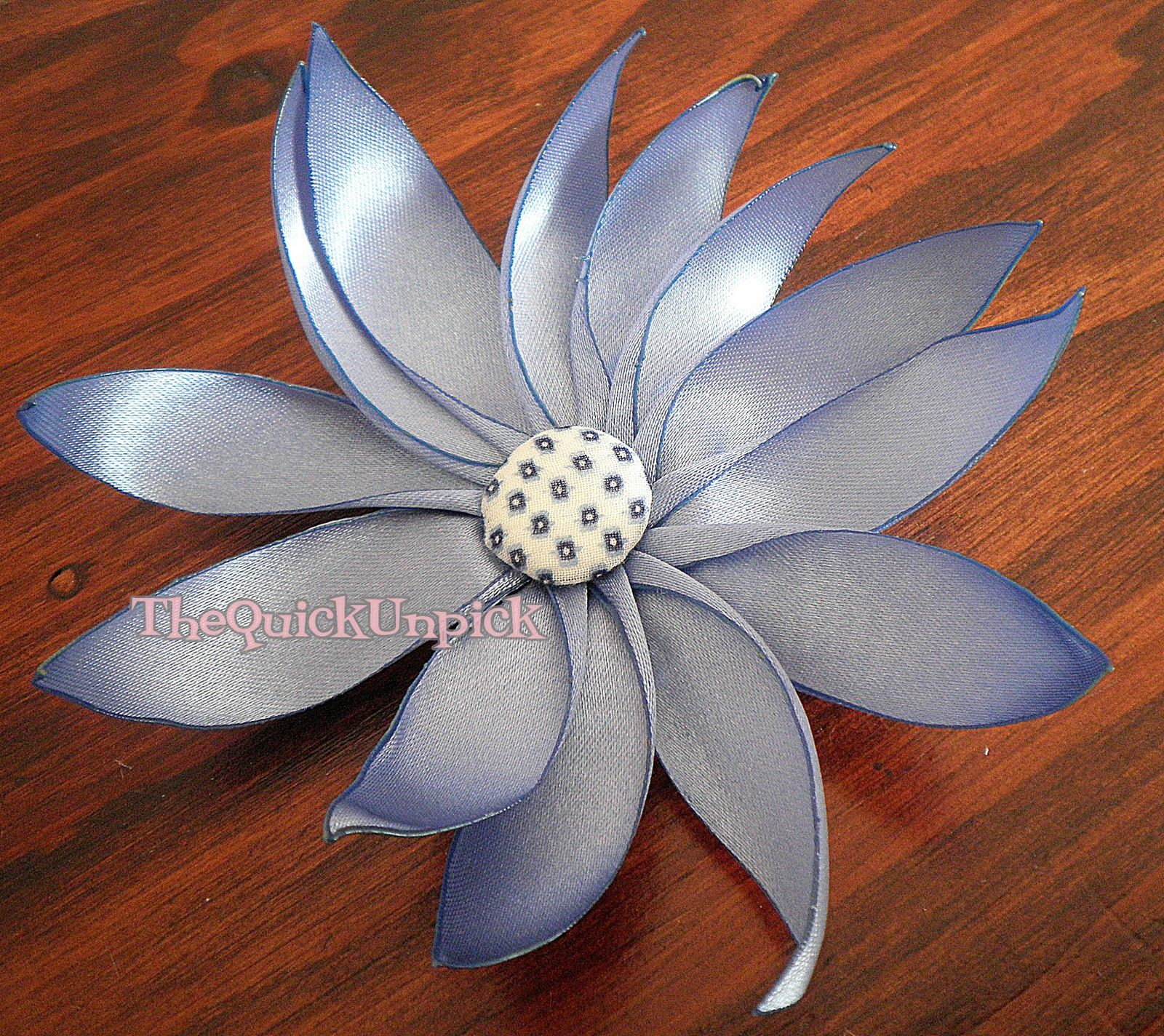 This beautiful ribbon flower can be used to make a broach a this beautiful ribbon flower can be used to make a broach a headband or izmirmasajfo