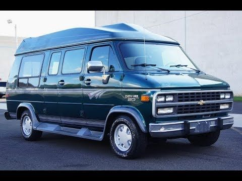 1995 Chevrolet G20 Hightop Conversion Van Mark Iii Le With Leather