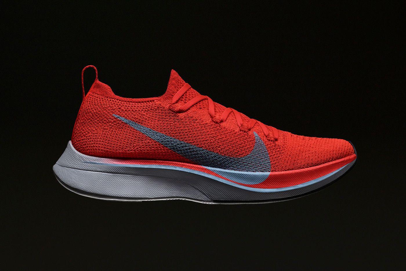 Nike Updates Zoom Fly Vaporfly 4 Runners For Marathon Season Nike Zoom Nike Shoes Maroon Nike Shoes Roshe