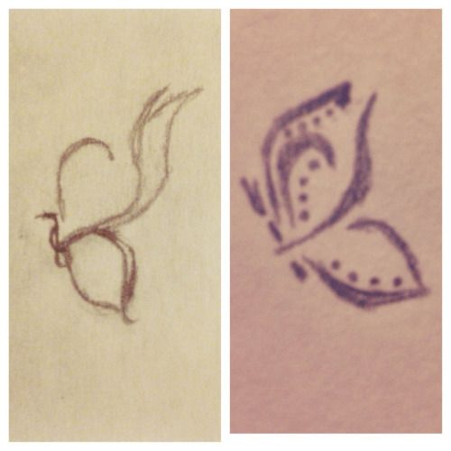 Butterfly Represents Self Harm Recovery And Growth And Freedom The