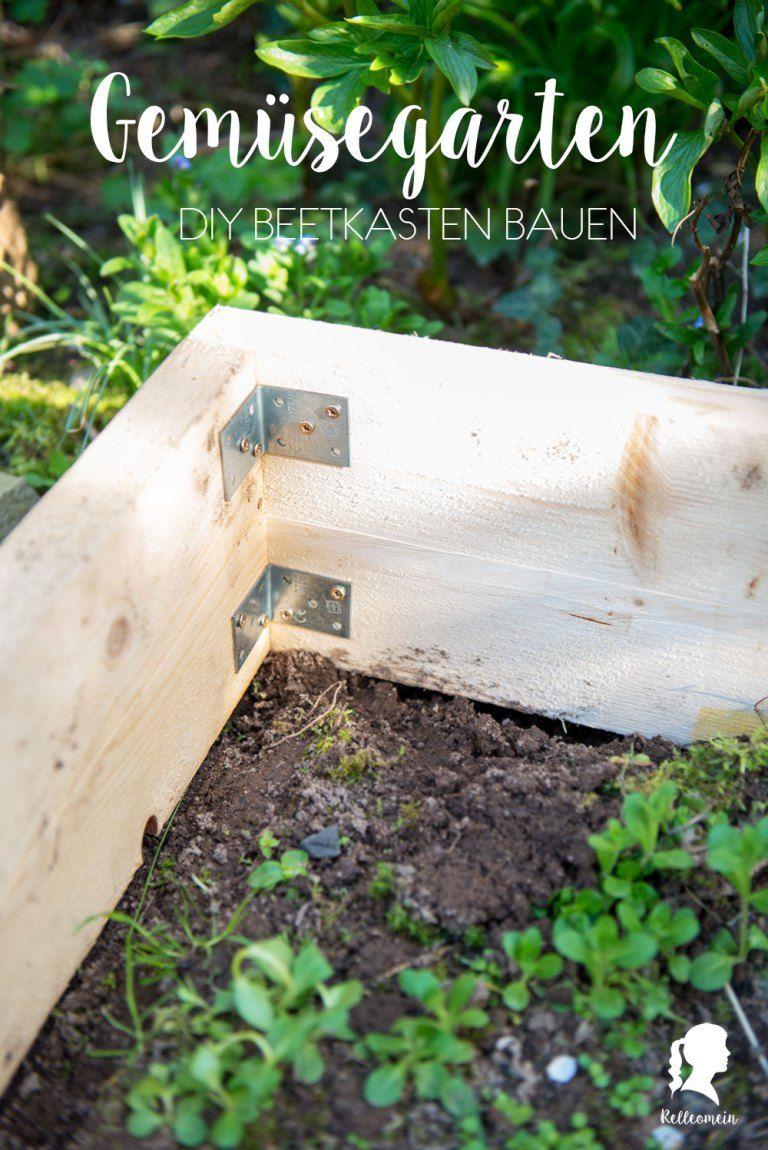 Gemusegarten Beetkasten Selber Bauen Inkl Rankgerust Garten