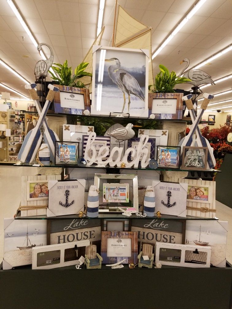 Hobby lobby nautical home decor nautical home for Bathroom decor at hobby lobby
