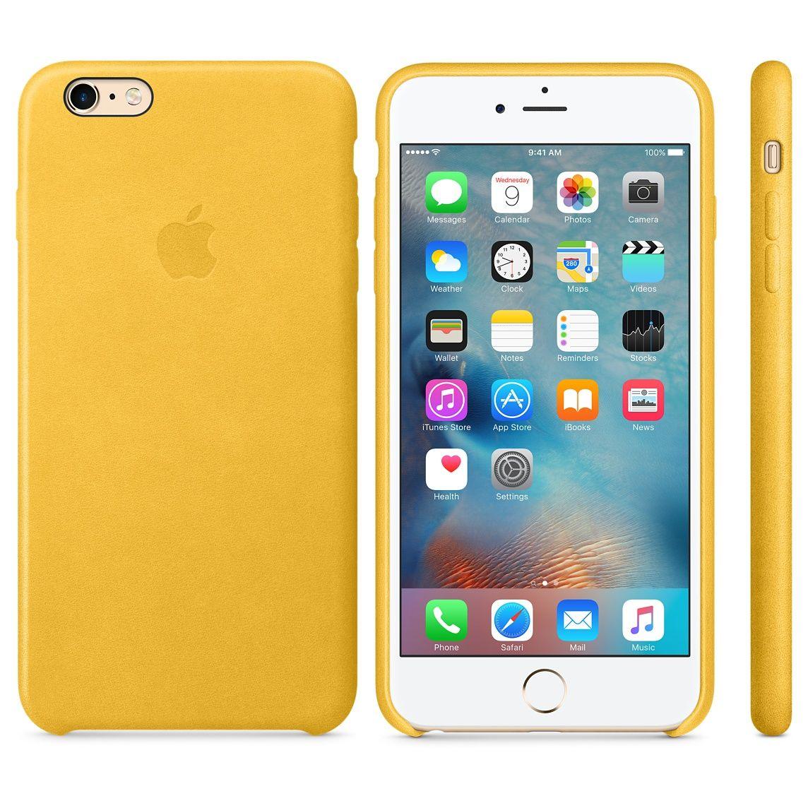 Iphone 6 Plus 6s Plus Leather Case Saddle Brown Fundas Para