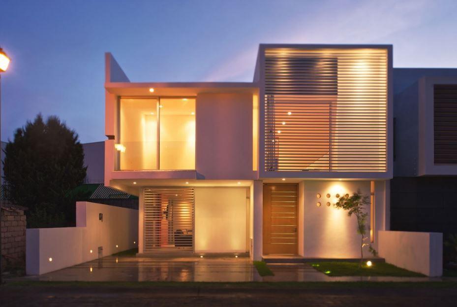 Modelos de casas interiores y exteriores Ejemplos de casas Pinterest - interiores de casas
