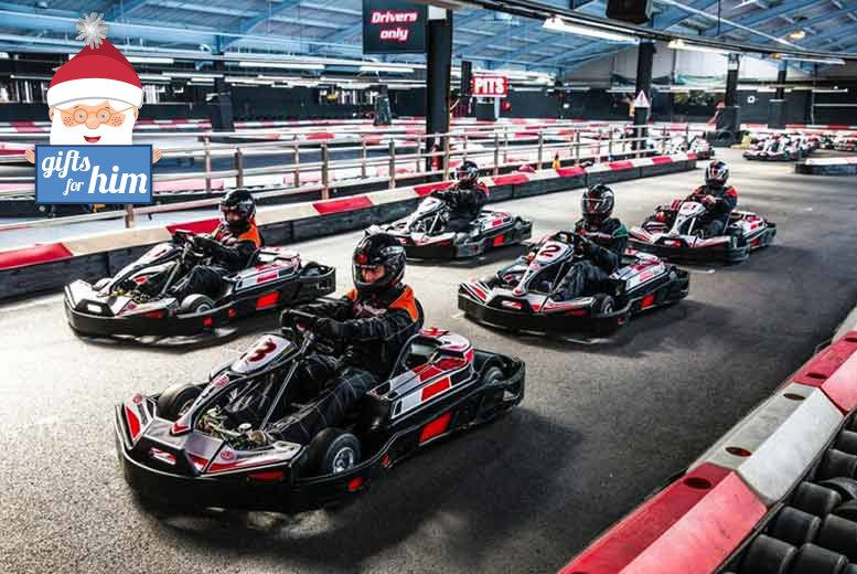 50 Laps Of Indoor Go Karting For 2 Choice Of 10 Locations Karting Racing Go Kart