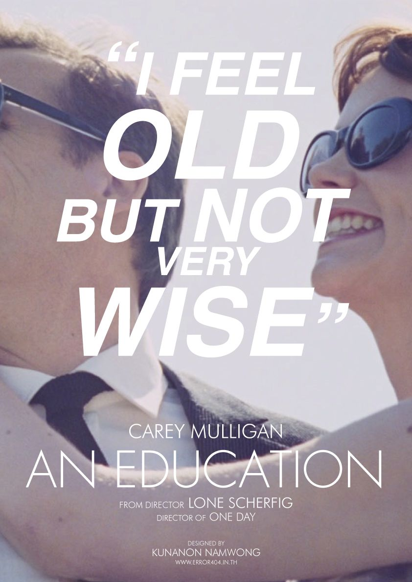 Alternative An Education poster by Kunanon Namwong | Favorite ...