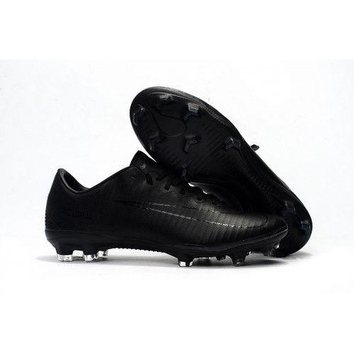 En Ligne Nouvelle Nike Crampon Nike Hypervenom Phelon III FG Noir Promo  soldes