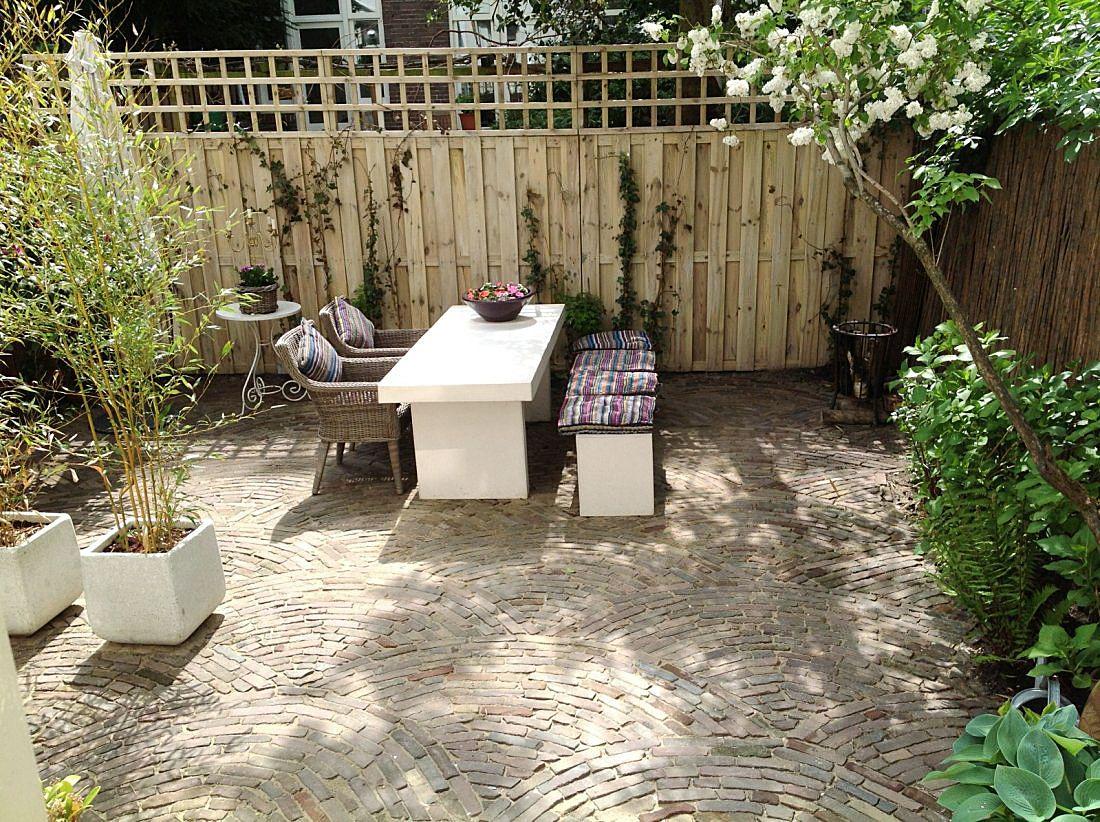 Heuvelachtig Tuin Ontwerp : Tuin renovatie amsterdam zuid tuinideeën renovatie