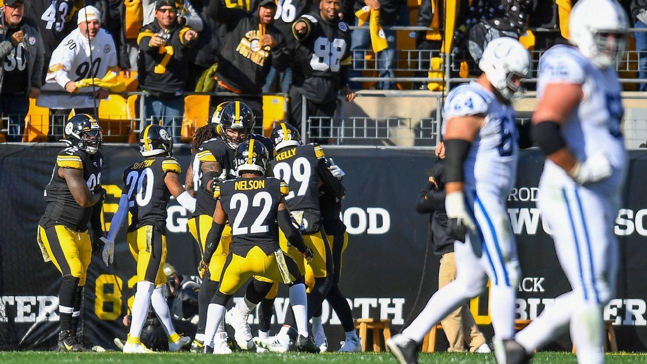 Steelers Defense Forces Three Takeaways To Hold Off Weakened Colts Pittsburgh Steelers Blog Pittsburgh Steelers Knee Injury Justin Houston