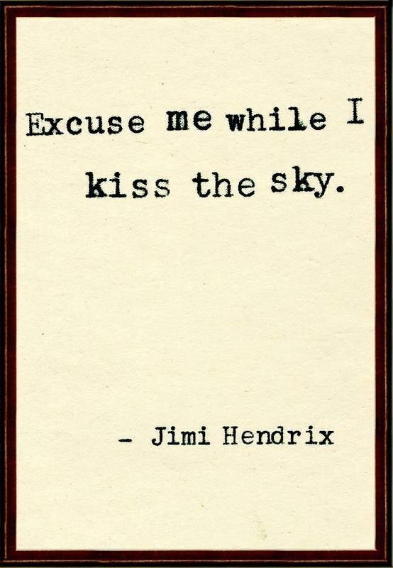 Jimi Hendrix #aviationquotesflightattendant