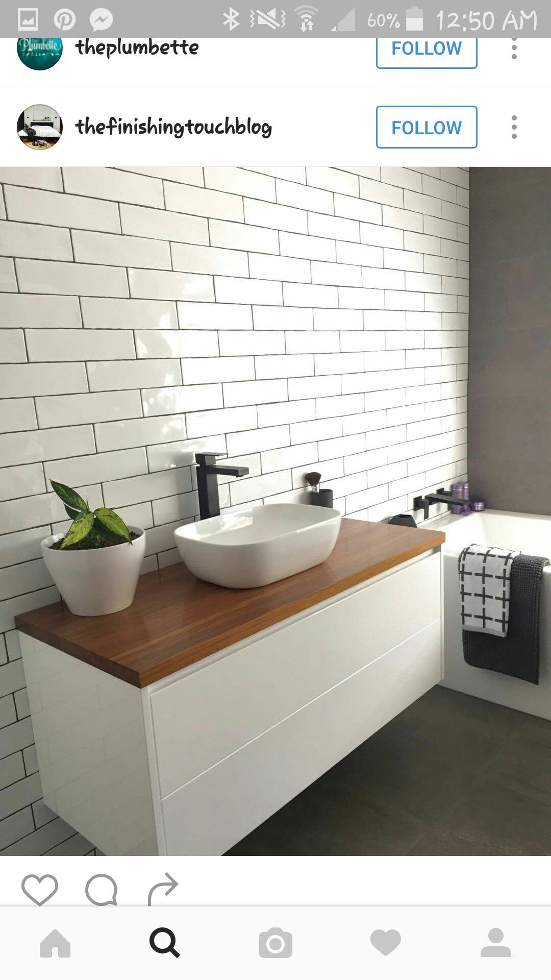 Pin by Oliwia Hasiuk on Dom | Pinterest | Bathroom designs, Mid ...