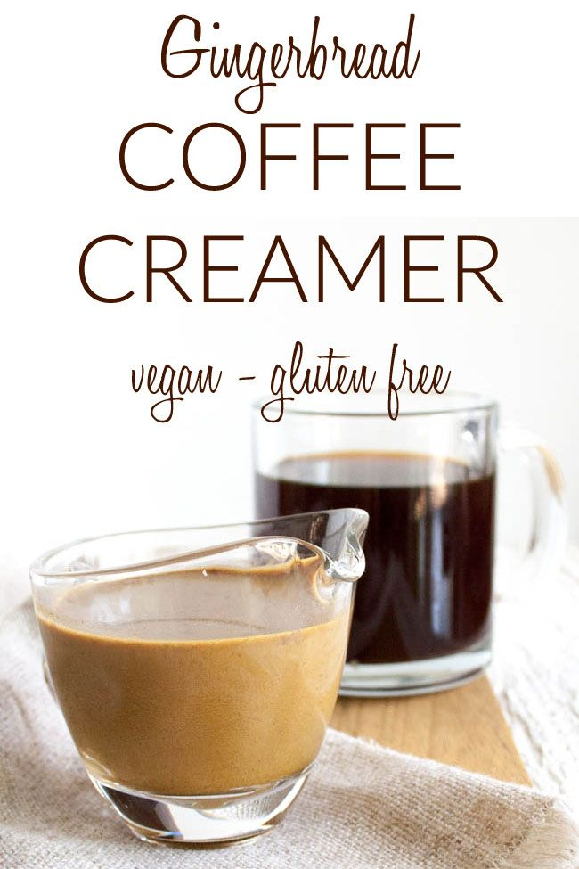 Photo of Gingerbread Coffee Creamer –