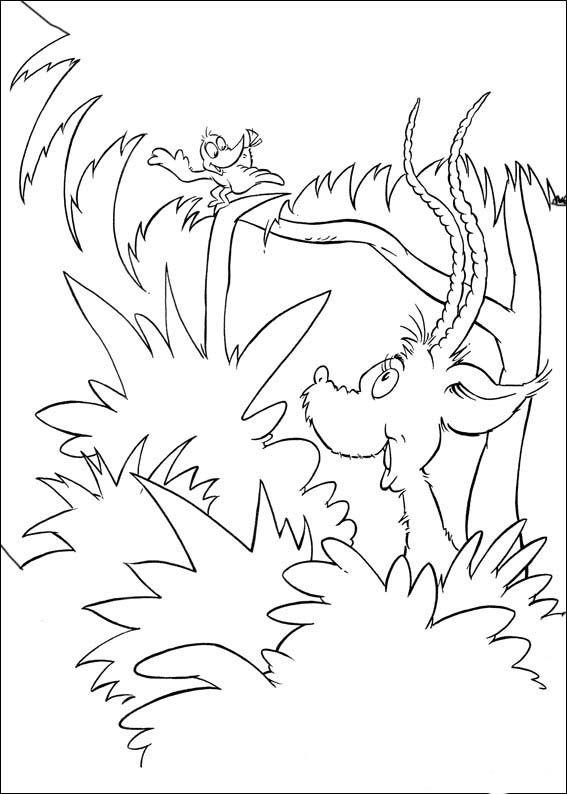 Dibujos para Colorear Horton 16 | Dibujos para colorear para niños ...