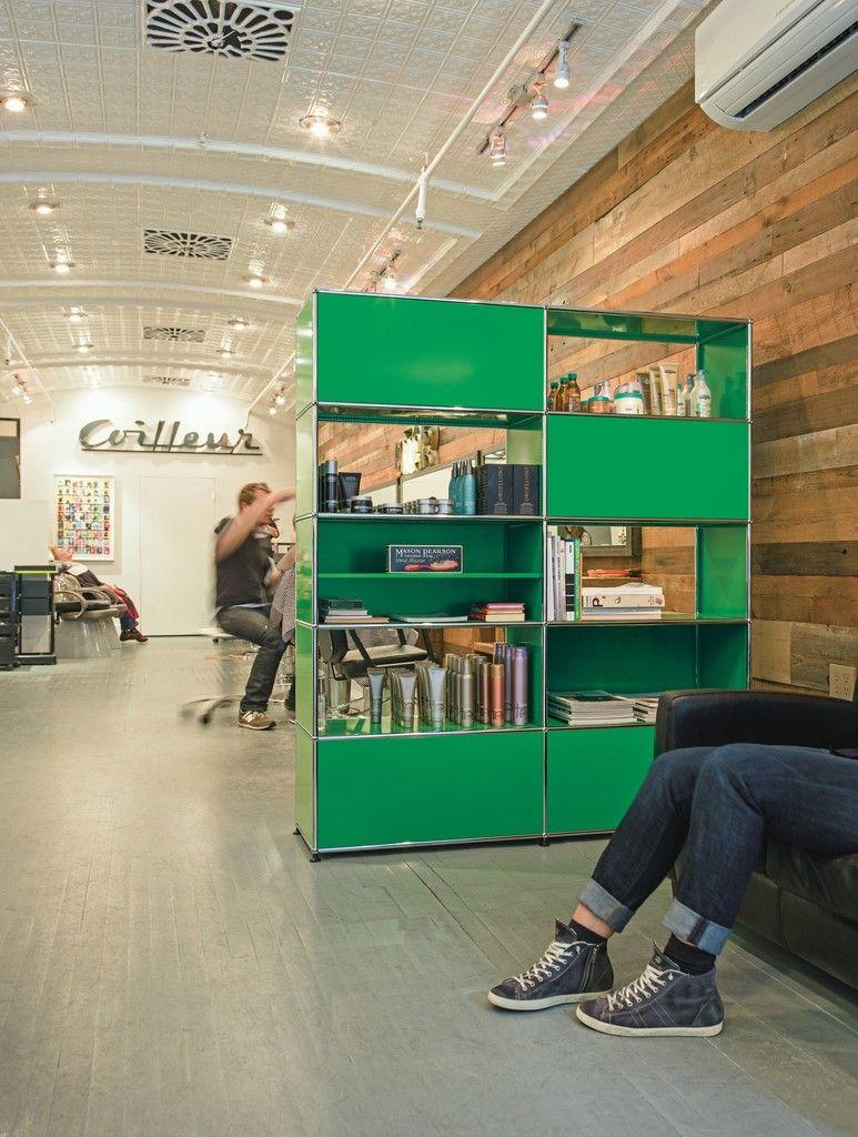 usm haller green shelf colors