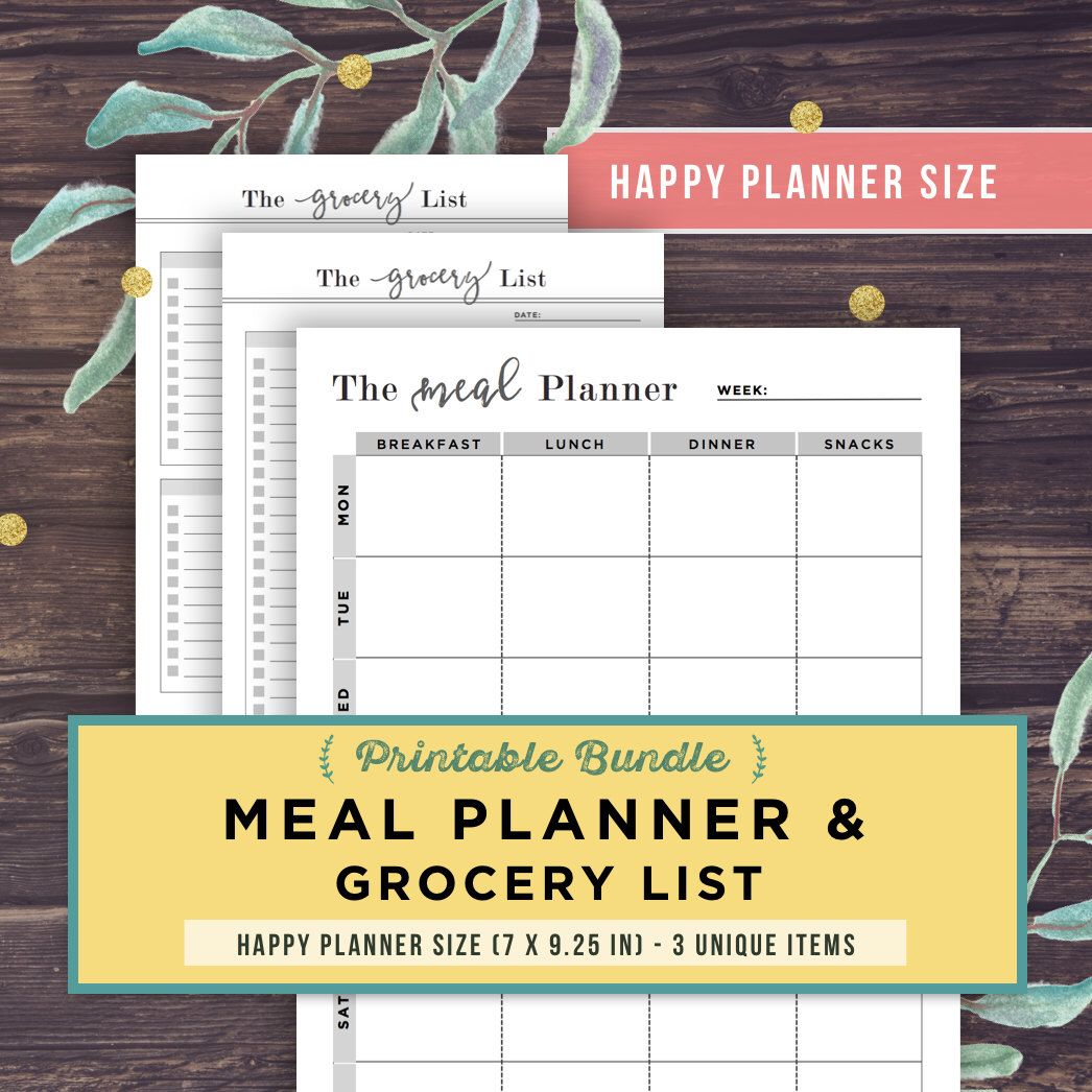 The 25+ best The happy planner inserts ideas on Pinterest ...