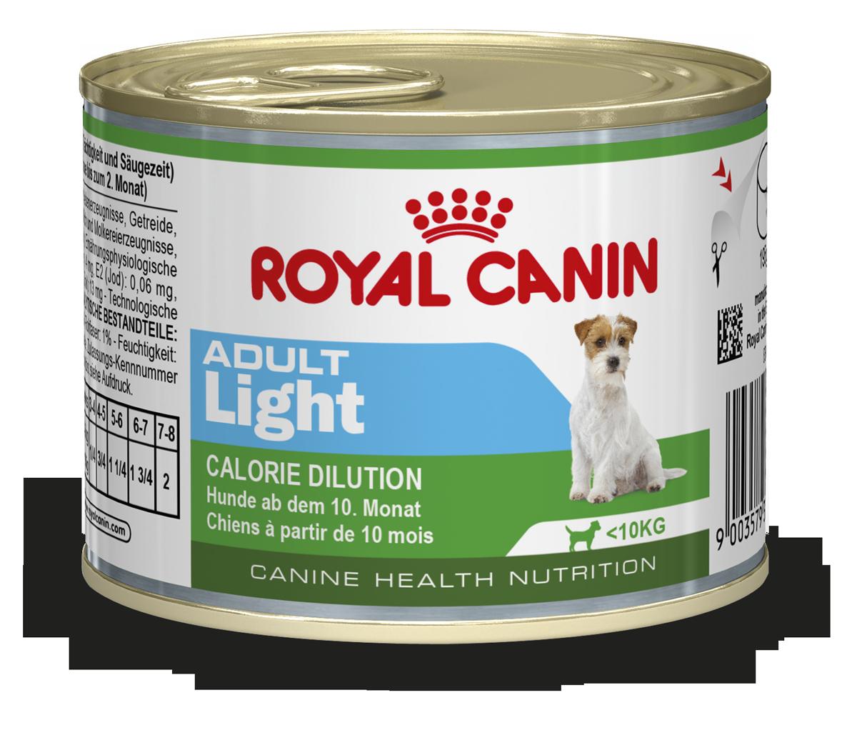 Alleinfuttermittel für kleine, ausgewachsene Hunde unter
