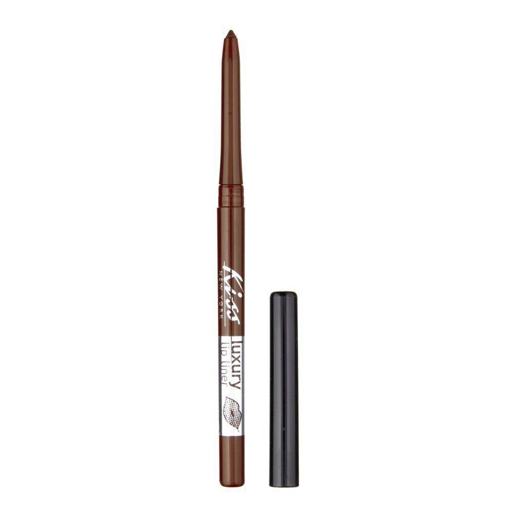 Kiss New York Luxury Lip Liner Long Lasting Rich Colors Roasted