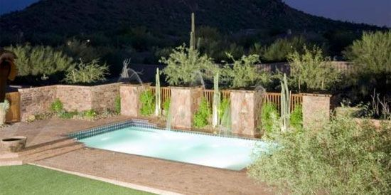 Wading Pool At Night Above Ground In Pools