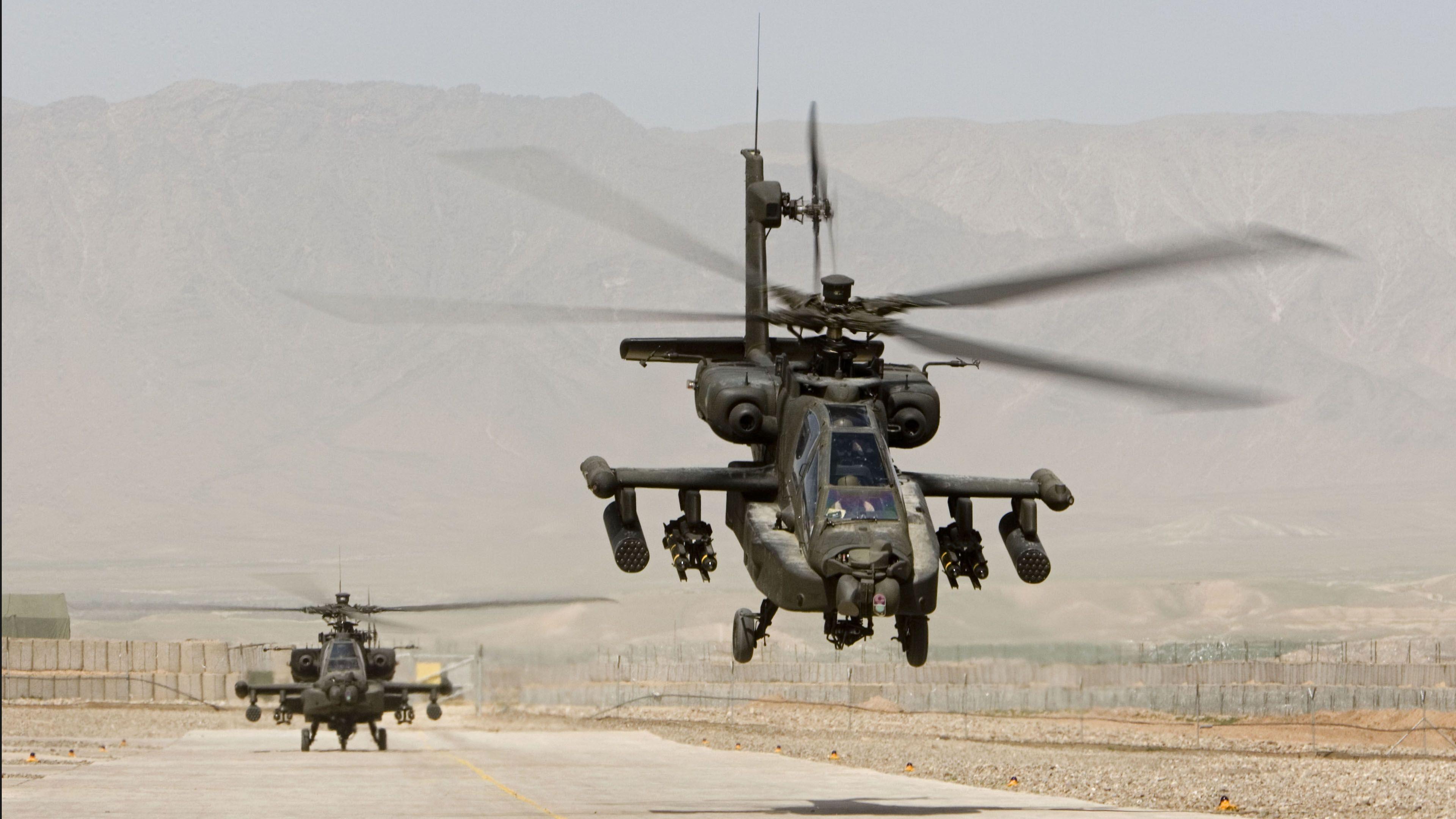 Military Helicopter 4k Hd Desktop Wallpaper For 4k Ultra: Apache Ultra HD 4k Wallpaper