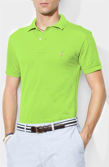 Polo Ralph Lauren Classic Fit Cotton Mesh Polo available at  Nordstrom  Formas De Vestir bbe8f3440d97a