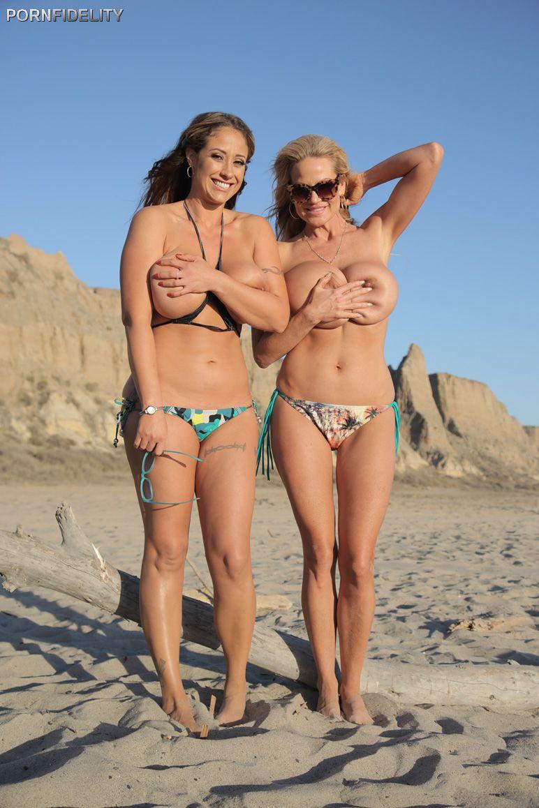Beach bikinis porn