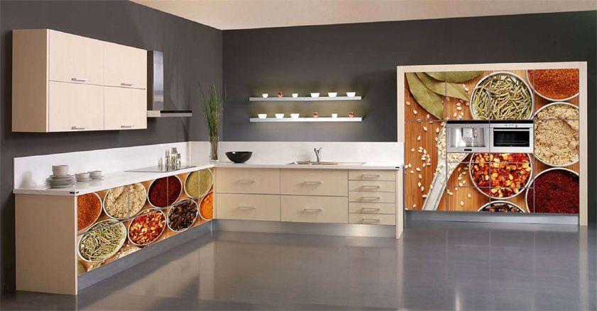 vinilos decorativos cocinas modernas | Kitchens | Cocinas ...