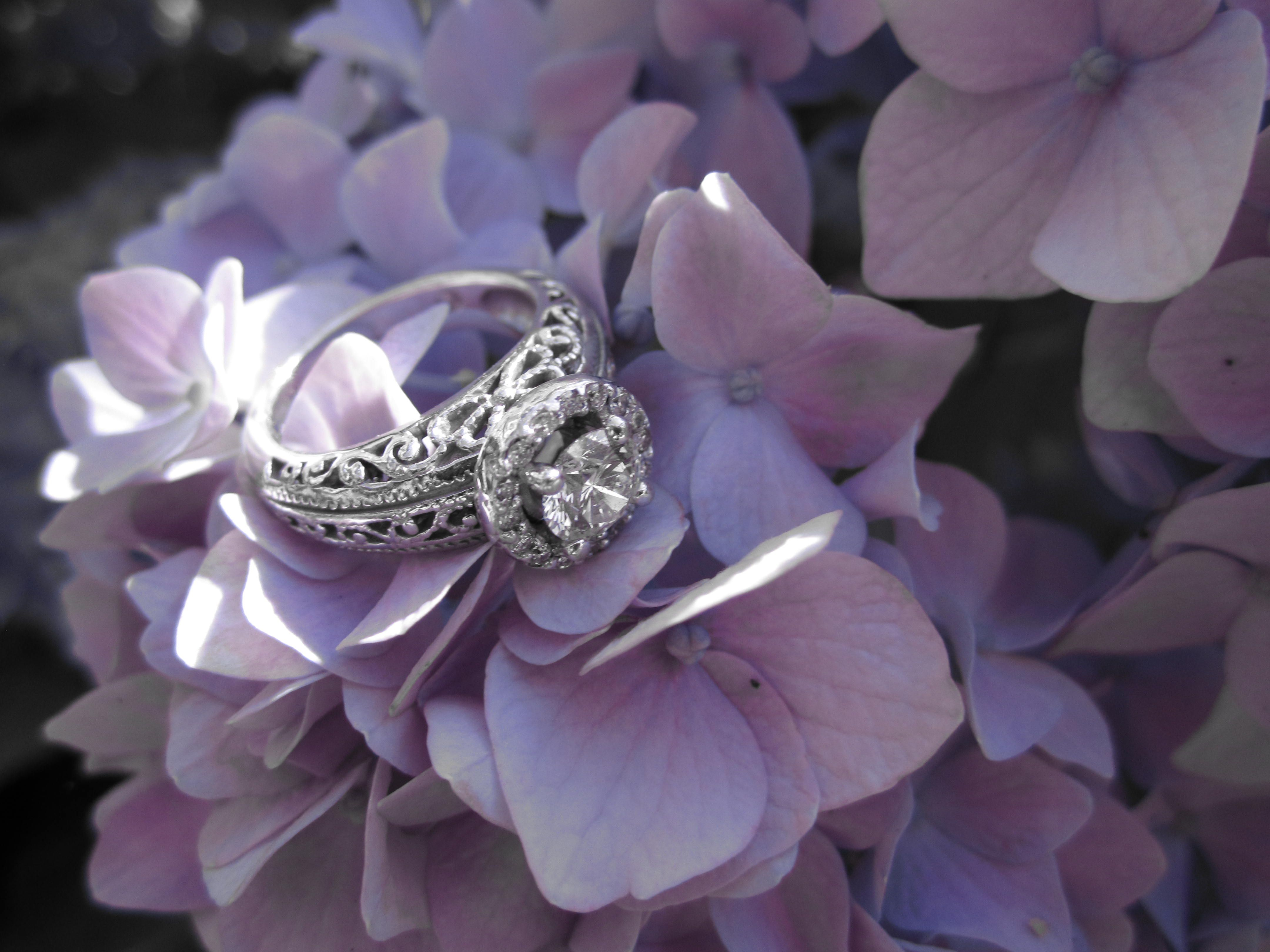 engagement ring.  Filigree is beautiful <3