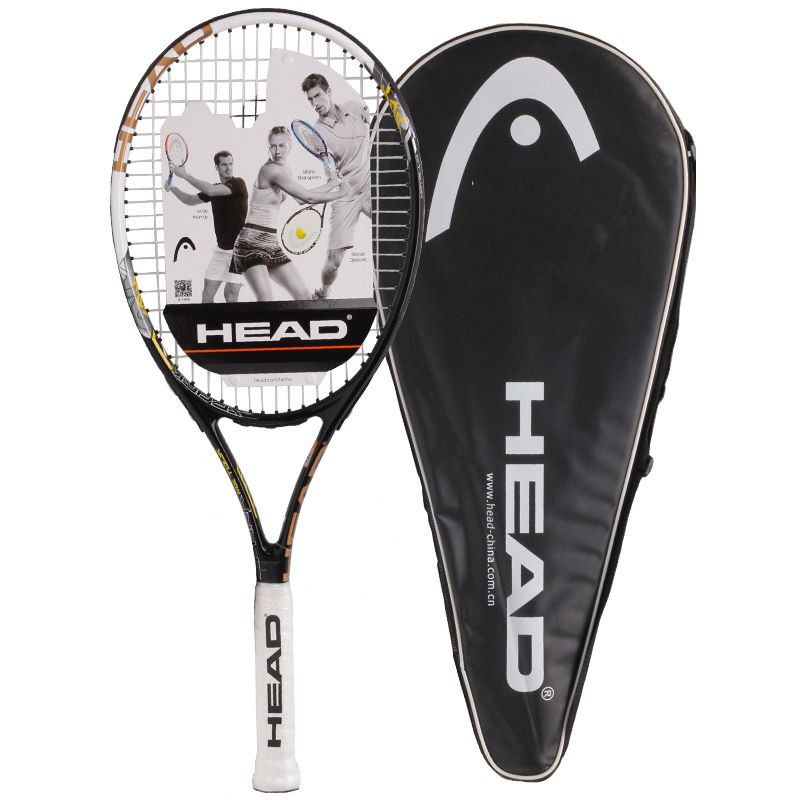 Head Professional Tennis Rackets Men 2 Training Rackets For Tennis Women Top Quality Tennis Shockproof Racquets With Bags Tennis Racket Tennis Racquets