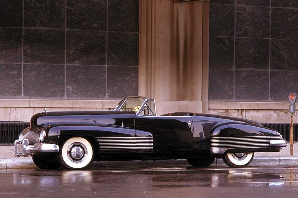 1938 Buick Y-Job, one of the brand's top five most influential concept cars.