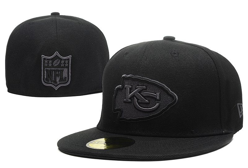 NFL Kansas City Chief New Era Size Hats Fitted Caps  30e881238dc1