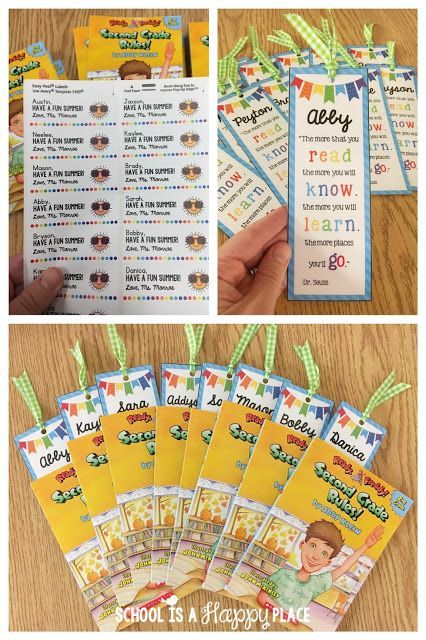 Free Editable Bookmark Great For End Of The Year Student