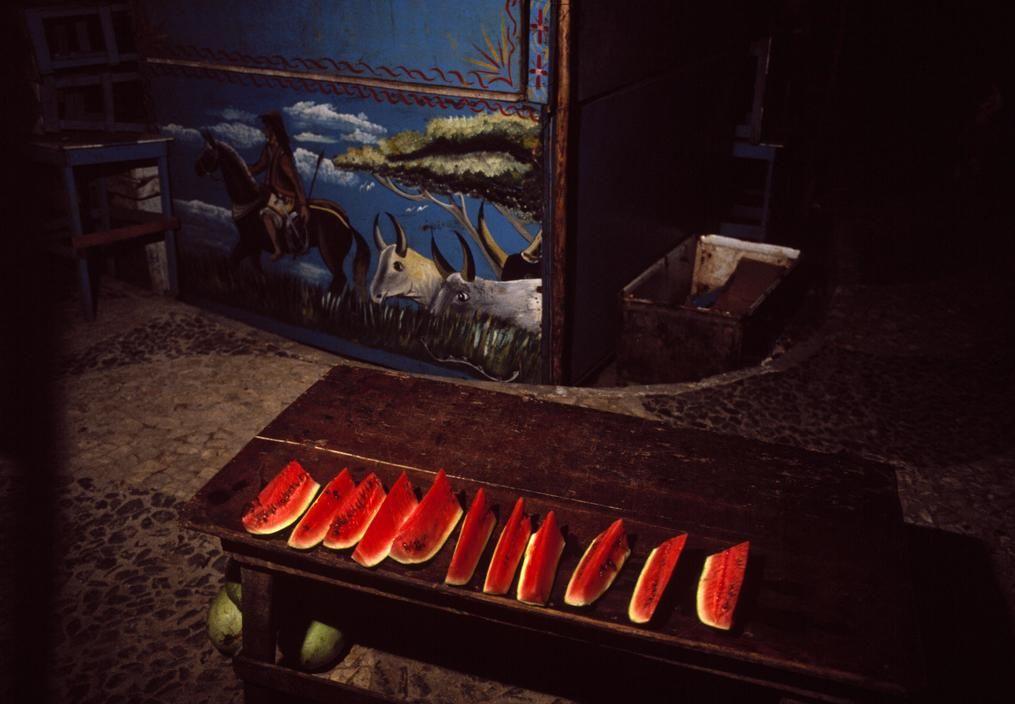 Miguel Rio Branco Salvador de Bahia. 1984. interieur de  barraca Magnum Photos Photographer Portfolio