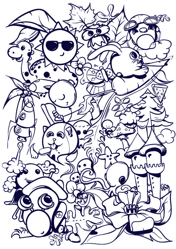 Learn how to doodle step by step tutorial doodles for Doodle tutorial