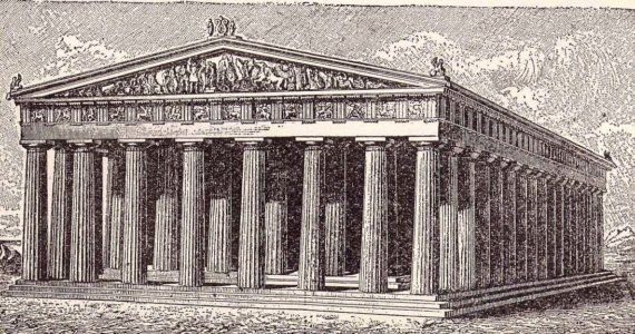 Ancient Roman and Greek Architecture 1906 Antique Edwardian Illustrations To Frame