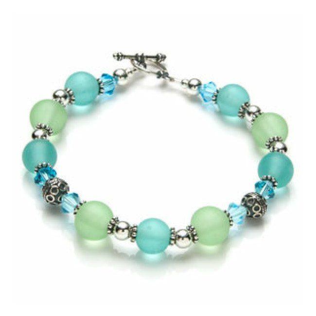 Beaded Charm Bracelets: Beaded Jewelry Patterns On Pinterest