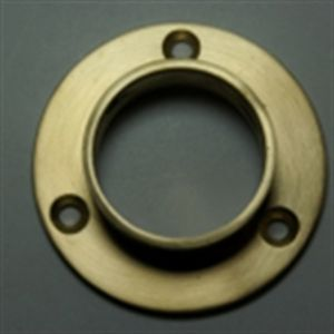 Closed End Closet Rod Flange This Durable And Practical Brass Closet Rod  Flange Provides Stylish And
